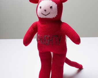 Estella Cotton Handmade Doll - Naughty 12""
