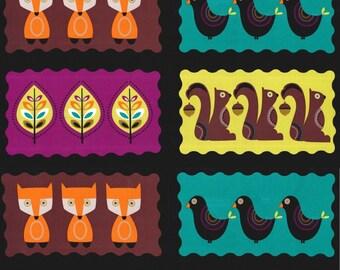 Norwegian Woods Panel in Forest  cx5974- NORWEGIAN WOODS - Michael Miller Fabrics - 24 inch panel