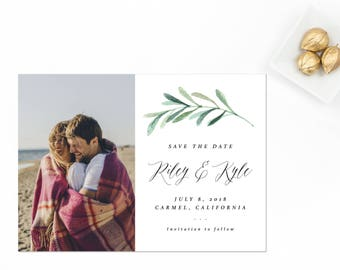 Picture Save the Date, Engagement Photo Save the Date, Picture Save the Date, Engagement Photo Card