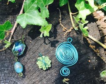 summer trio - 3 pendants