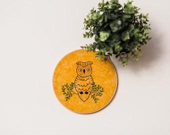 Hand Embroidered Hoop Art