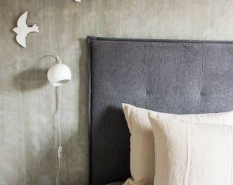 Softened Linen Pillowcase - Linen pillow case - Beige linen bedding - Stone washed linen - Beige - Bed linens
