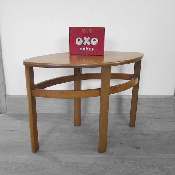 Mid Century Side Table Vintage Retro G Plan Kitsch Design Modernist