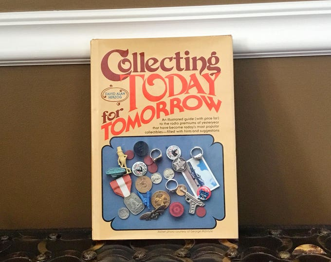 "COLLECTOR BOOK David Herzog's ""Collecting Today for Tomorrow"" 1980 Radio Premiums"