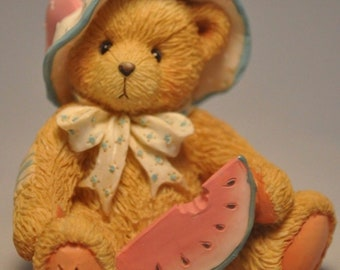 Cherished Teddies A day in the park, July, brand new!
