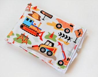Baby Accessories Burp Cloth Construction Trucks Baby Gift Burp Rag Cloth Diaper Baby Trend New Baby