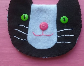 Cat, Dog, Animal Coin Purse