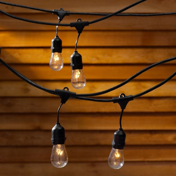 Edison Bulb Outdoor String Lights Christmas lights vintage outdoor string lights for wedding party christmas lights vintage outdoor string lights for wedding party patiowith 24 edison industrial bulbs from thatoldchestnutshop on etsy studio workwithnaturefo