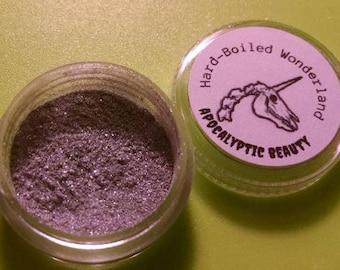 Hardboiled Wonderland - silver vegan eyeshadow
