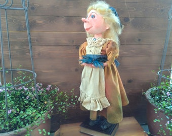 OOAK Doll - Alice - Doll - Alice In Wonderland - Handmade - Collectible - Fairy tale - Primitive - Fantasy - Art Doll - Whimsical - Faap