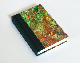 "Sketchbook 4x6"" with motifs of marbled papers - 19"