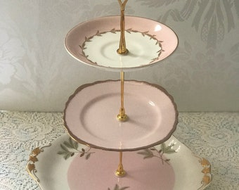 Royal Albert Mismatched Cake Stand