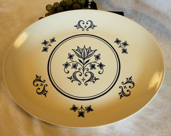 "Provincial by Sheffield 13.5"" Oval Platter in Excellent Condition"