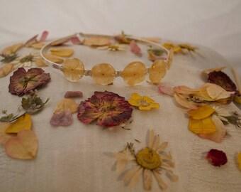 Viburnum Flower tiara