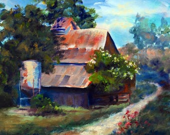 Barn at the Bend