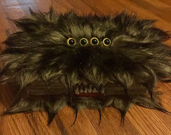 monster book storage box or sticky note holder