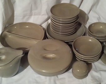 LOT of Russel Wright Iroquois Casual OYSTER - For sale in total or by piece