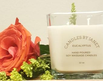 Eucalyptus Soy candles