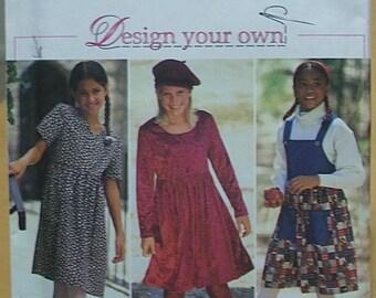 Simplicity 9774 Girls dress Size 7-14 UNCUT