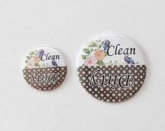 dishwasher magnet,magnet, clean / dirty dishwasher magnet,