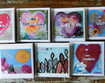 Love Activism Button Pack