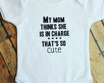 Funny Baby Onesie, Babyshower Gifts, Baby Gift, Baby Clothes, Baby Bodysuit, Baby Boy, Baby Girl