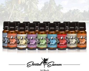 Fragrance Oil Gift Set 16 Count Pack 10ml – Fruity (SALE)