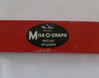 Vintage Mileage Measuring Tool, Mile-O-Graph