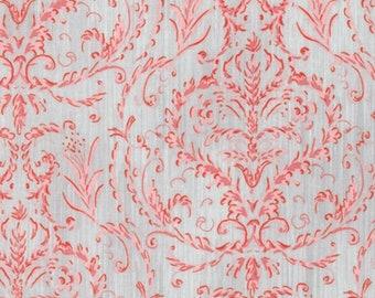 Dena Designs Marquesas PWDF263 Treille Coral Cotton Fabric By Yard