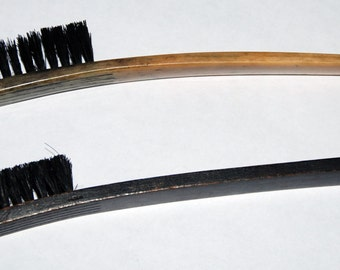 Genuine Vintage Business Machine Brushes:  one NCR, and one Remington Free Shipping!