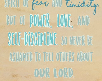 2 Timothy 1:7-8