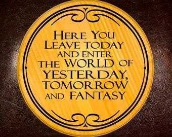 Magic Kingdom Welcome Sign