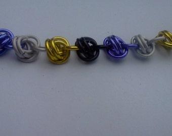 Nonbinary Pride Barrel Bracelet
