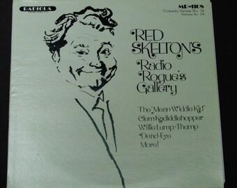 """Red Skelton's Radio Rogue's Gallery - """"The Mean Widdle Kid"""" - 1940's Radio Comedy - Radiola Records 1980 - Vintage Vinyl LP Record Album"""