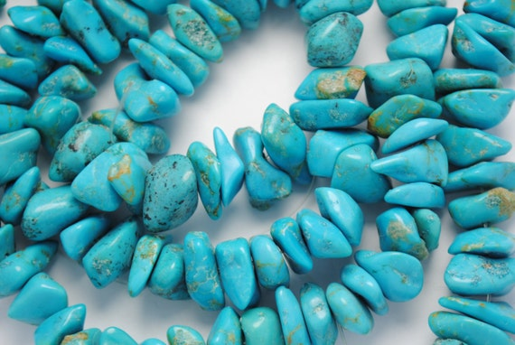 Fils de perles turquoise