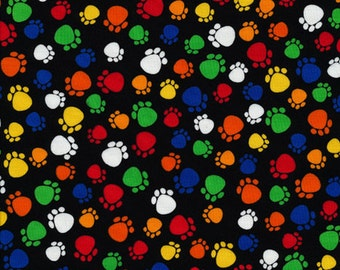 Timeless treasures cats paws 0,5 m pure Cotton