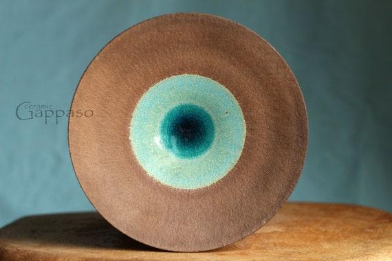 assiette en c ramique poterie artisanale service plaque. Black Bedroom Furniture Sets. Home Design Ideas