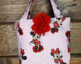 Little Girls Purse, Small Tote for Little Girls, Mini Mouse Purse
