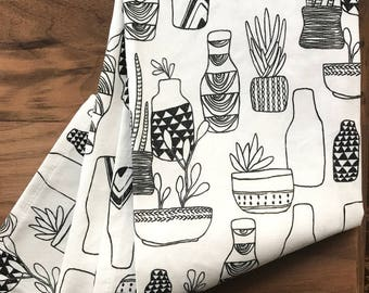 Home Garden Tea Towel