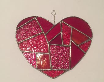 Large Patchwork Heart