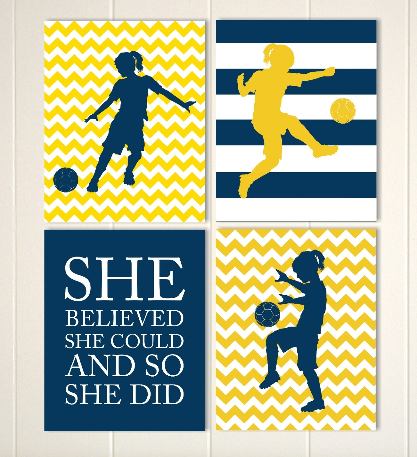 Soccer girl wall art soccer player girls quote art girls