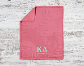 KD Kappa Delta Classic Sweatshirt Blanket Throw Greek Licensed Sorority Gift