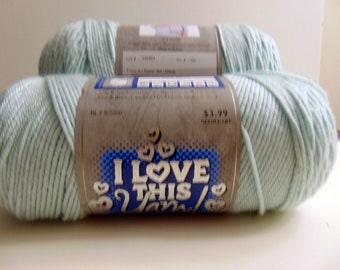 Glacier - I Love This Yarn worsted weight 100 % acrylic - 3013