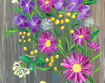 Bouquet | Art Print | Wall Art