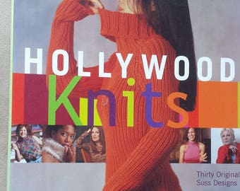 Hollywood Knits - 30 original Suss Designs - Knitting Patterns for Family and home by Suss Cousins - Hardcover Book