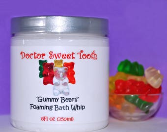 Gummy Bears Foaming Bath Whip 8oz