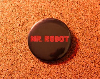 2.25 inch Mr. Robot Pin-back Button