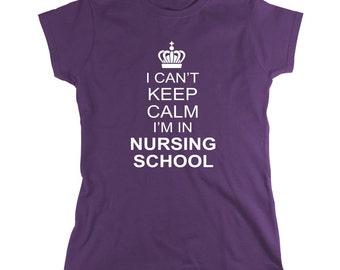 I Can't Keep Calm I'm In Nursing School shirt, nurse - ID: 60