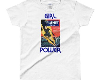 Girl Power Retro Vintage Ladies' T-shirt