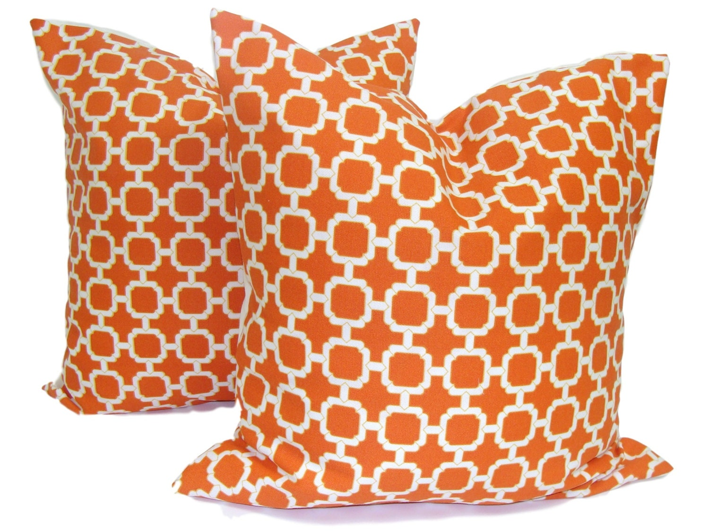 vibrant cushions zoom fullxfull listing pillow pillows bright il orange bold